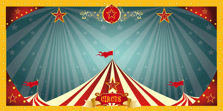 fun circus banner