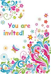 Funny invitation