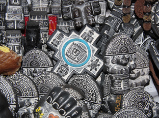 Traditional symbols for Aymara rituals, Witches Market, La Paz