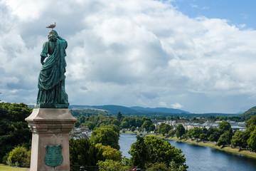 Inverness, Scotland - Flora Mac Donald statue