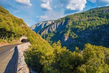 Wall Mural - Mountain Road Sierra Nevada