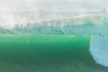 Ocean Wave Closeup Detail