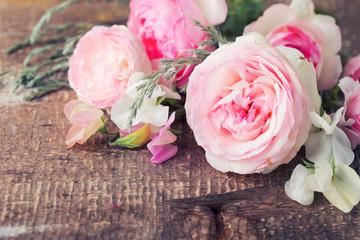 Fresh  summer roses