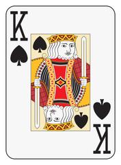 Jumbo index king of spades