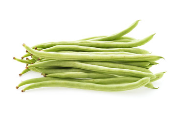 cowpea isolated on white background