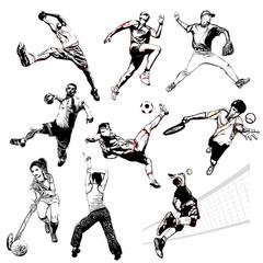 sports vector illustration 2