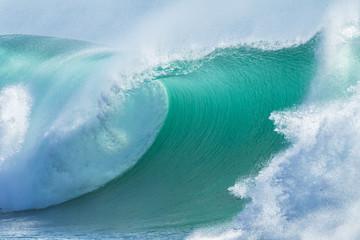 Wave Hollow Breaking Water