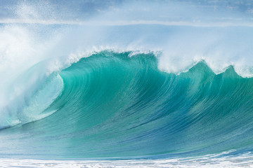 Ocean Wave Scenic Color