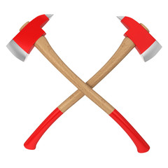 Firefighter axes