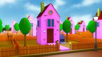 Mini home and neighborhood