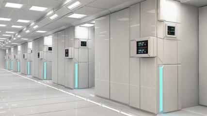 SCIFI futuristic interior architecture