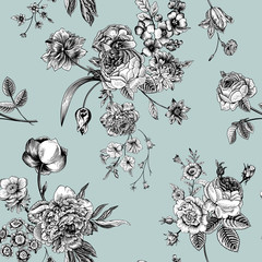 Seamless vector vintage pattern.