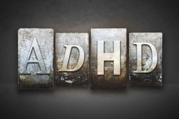ADHD Letterpress Concept