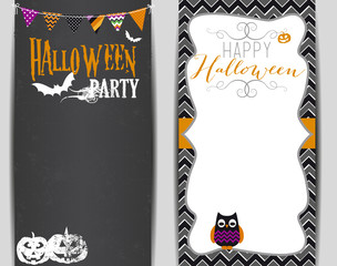 HALLOWEEN PARTY, BANNER