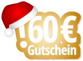60 € Gutschein