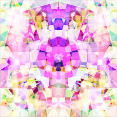 Picture a kaleidoscope. Raster