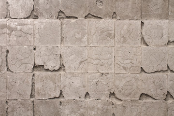 grunge wall without tiles