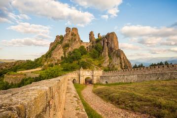 Belogradchik fortress entrance and the rocks
