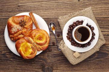 Coffee and buns