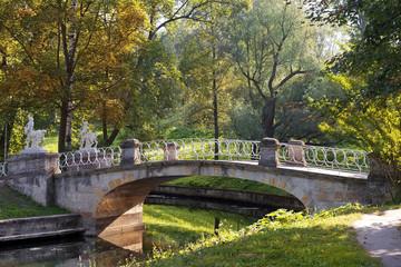 bridge with centaurs, Pavlovsk park, Saint Petersburg