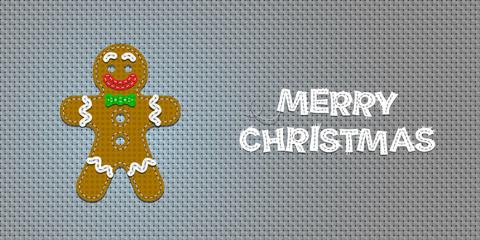 Vector Christmas Gingerbread