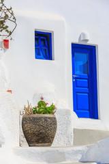 Fototapete - Traditional architecture, Santorini Greece