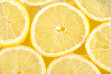 Lemons background.