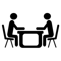 Entrance interview - Man - Man - Sign