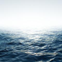 Poster Mer / Ocean Blue sea with sky
