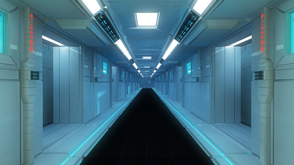 SCIFI interior architecture