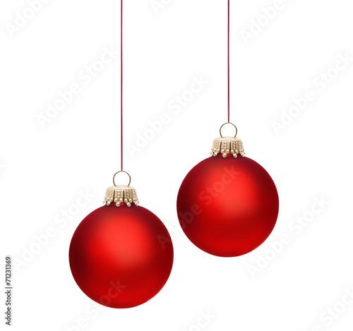 Große Rote Christbaumkugeln.Rote Christbaumkugel Stockfotos Und Lizenzfreie Bilder Auf Fotolia
