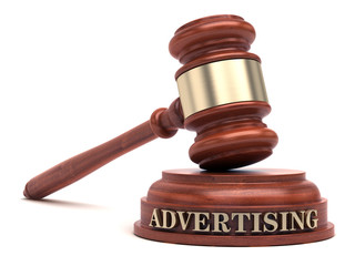 Advertising law & Gavel