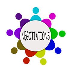 иллюстрация переговоры