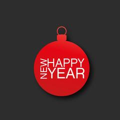 carte, nouvel an