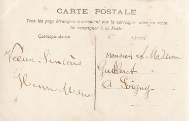 French Antique Postcard 81