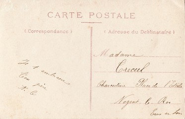 French Antique Postcard 79