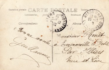 French Antique Postcard 36