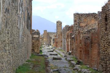Roman Street - Pompeii