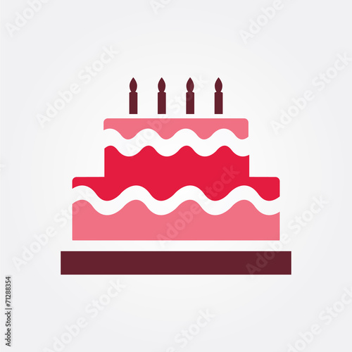 Birthday Cake Symbol Stock Image And Royalty Free Vector Files On