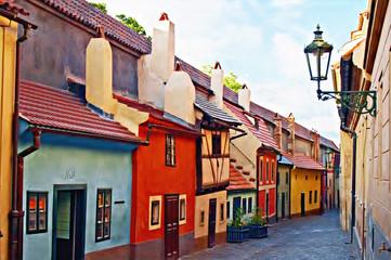 Printed roller blinds Prague Golden Lane, Prague castle