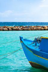 Rest in Paradise - Malediven - Fischerboot und Meer