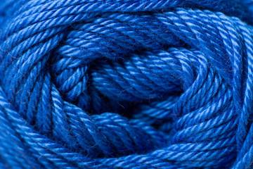 Color yarn close up