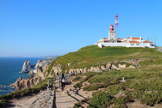 Lighthouse in Cabo da Roca