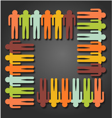 Logo travail diversité