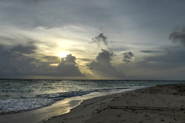 Punta Cana Beach at Sunrise, Dominican Republic