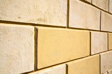 brick in busto arsizio street lombardy