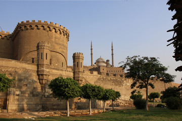 Ancient citadel. Cairo. Egypt.