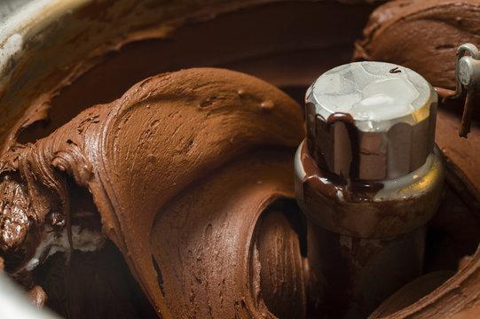 Ice cream preparation
