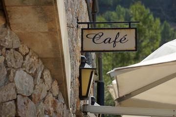 Mallorca Cafe Schild