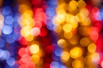 abstarct circle colorful holiday background